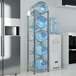 Heavy Duty Bottle Storage 3 4 5 Tier Water Cooler Jug Rack D