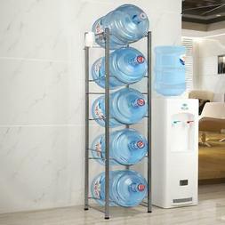 Heavy Duty Bottle Storage 5 Tier Water Cooler Jug Rack Water