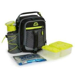 Arctic Zone High-Performance Dual-Compartment Lunch Box - Bl