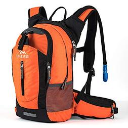 Hiking Insulated Hydration Backpack Pack with 2.5L BPA FREE