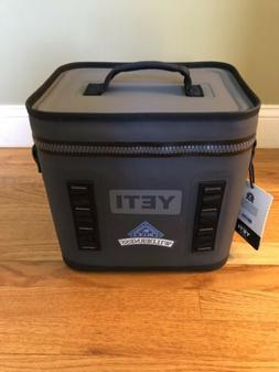 Yeti Hopper Flip 12 Soft Cooler Charcoal W Logo Brand New W