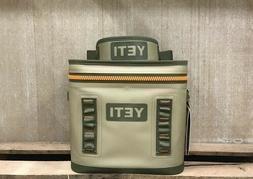 *NEW* Yeti Hopper Flip 12 Soft-Side TAN/ORANGE Cooler Bag FA