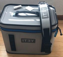 YETI Hopper FLIP 18 Cooler Fog Grey New without tags - FREE