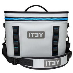 YETI Hopper Flip 18 Portable Cooler Fog Gray/Tahoe Blue