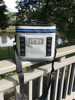 Yeti Hopper Flip 8 - Fog Grey/Tahoe Blue Soft Portable Coole