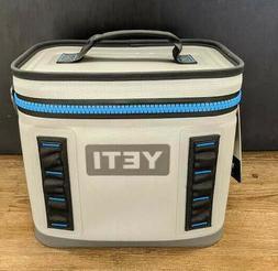 Yeti Hopper Flip 8 Portable Cooler - Fog Gray/Tahoe Blue
