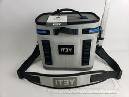 YETI Hopper Flip 8 Portable Soft Cooler - Fog Gray / Tahoe B