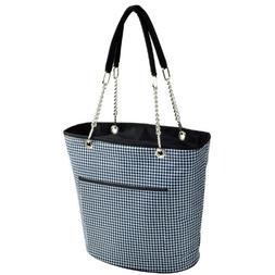 Houndstooth Fashion Cooler Tote insulated