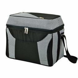 Picnic at Ascot Houndstooth Dome Top Cooler
