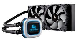CORSAIR HYDRO Series H100i PRO RGB AIO Liquid CPU Cooler, 24
