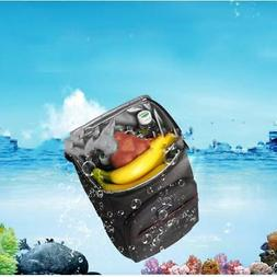 Ice Pack Cooler Backpack Picnic Lunch Bag Camping Food Insul