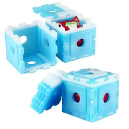 OICEPACK Ice Packs for Lunch Box Blue, Coolers Reusable 10 I