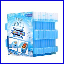 Ice Packs (Set Of 10) Cool Pack For Lunch Box Freezer Ba
