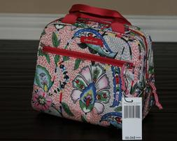 💚 Vera Bradley Iconic Lighten Up Lunch Cooler Bag in Stit