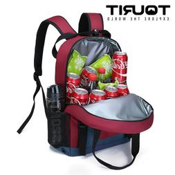 TOURIT Insulated Backpack Cooler Bag Water Resistant Lunch B