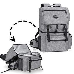 Kyndley Insulated Backpack Cooler. Lightweight Durable Coole
