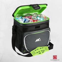 insulated cooler 16 can zipperless lid removable