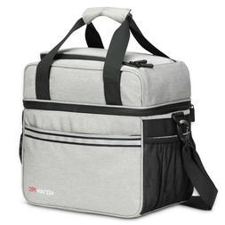 Veevanpro Insulated Cooler Bag 24 Cans 20L Leakproof Lunch F