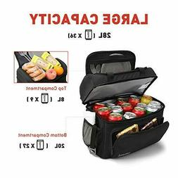 Tourit Insulated Cooler Bag 25 Cans Large Lunch Bag Soft Sid
