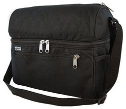 Ensign Peak Insulated Cooler Bag, Black
