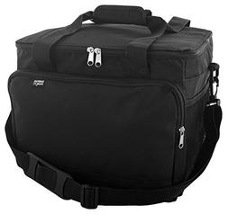 Extra Large Insulated Cooler Bag, Black