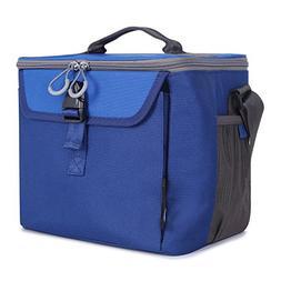 PORTAL Insulated Cooler Bag Soft Lined Small Shoulder Bag, B