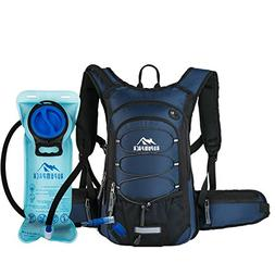 RUPUMPACK Insulated Hydration Backpack Pack with BPA Free 2L