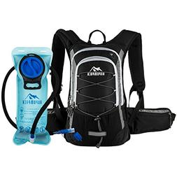 RUPUMPACK Insulated Hydration Backpack Pack with 2L Water Bl