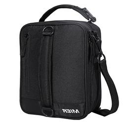 MIER Insulated Lunch Box Bag Expandable Lunch Pack for Men,