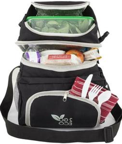 2GOECO Insulated Lunch Bag For Men or Women | Soft Sided Coo