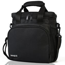 Insulated Lunch Bag: Adult Lunch Box For Work, Men, Women Wi