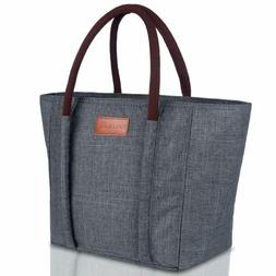 Baloray Insulated Lunch Bag Leak-Proof Cooler Bag Lunch Bag