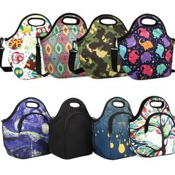 insulated lunch bag neoprene lunch tote reusable