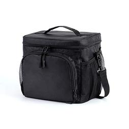 Lunch Bag Soft Lunch Cooler Lunch Tote with Shoulder Strap,