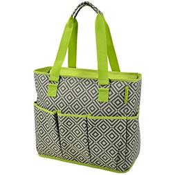 insulated multi pocketed bag
