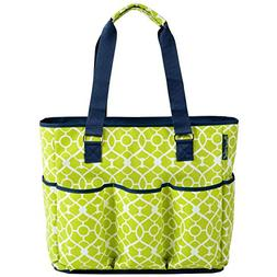 Large Insulated Multi Pocketed Travel Bag with 6 exterior po