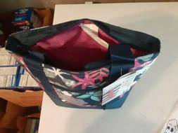 Arctic Zone Insulated Tote Floral Bag Lunch Box