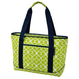 Green Large Insulated Tote