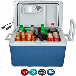 K-Box Electric Cooler and Warmer with Wheels for Car and Hom