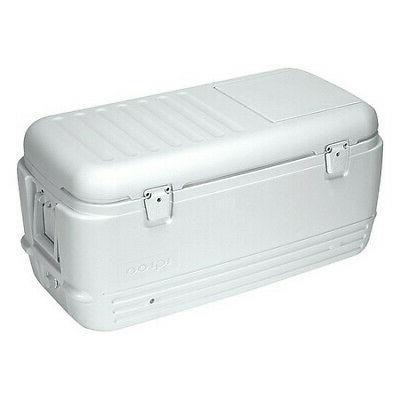IGLOO 11442 Full Size Chest Cooler, 100 qt., White