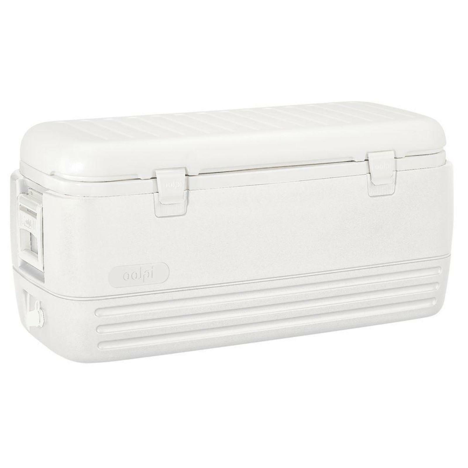 IGLOO 120 Qt Ice Chest Cooler w/ Retractable Handles