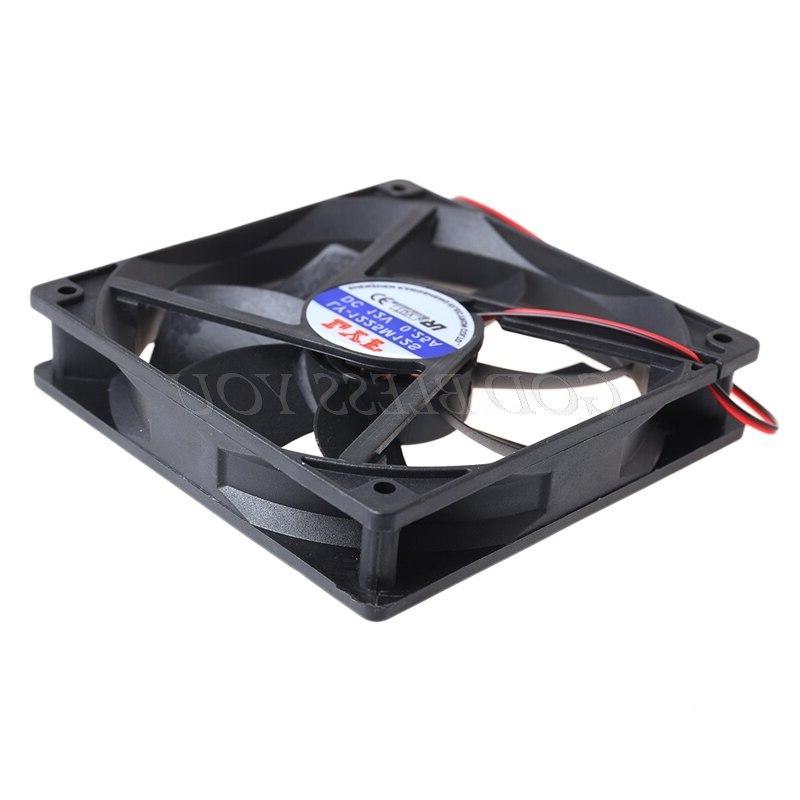 12V 120mm x 120mm x 25mm Box Hydraulic Cooling Fan Computer Heatsink
