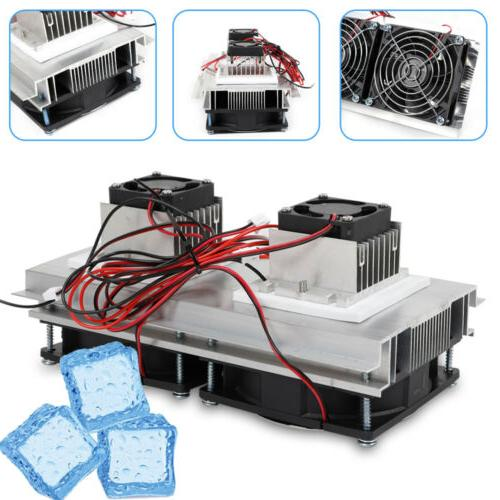 12V Thermoelectric Peltier Cooling System Fan DIY