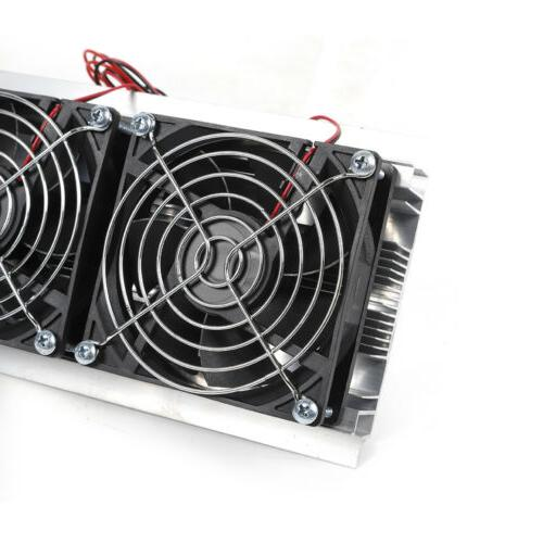 12V Thermoelectric Peltier Refrigeration Cooling Air Fan DIY