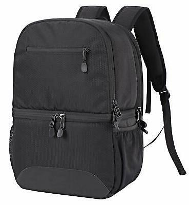 2 in 1 insulated cooler backpack hiking