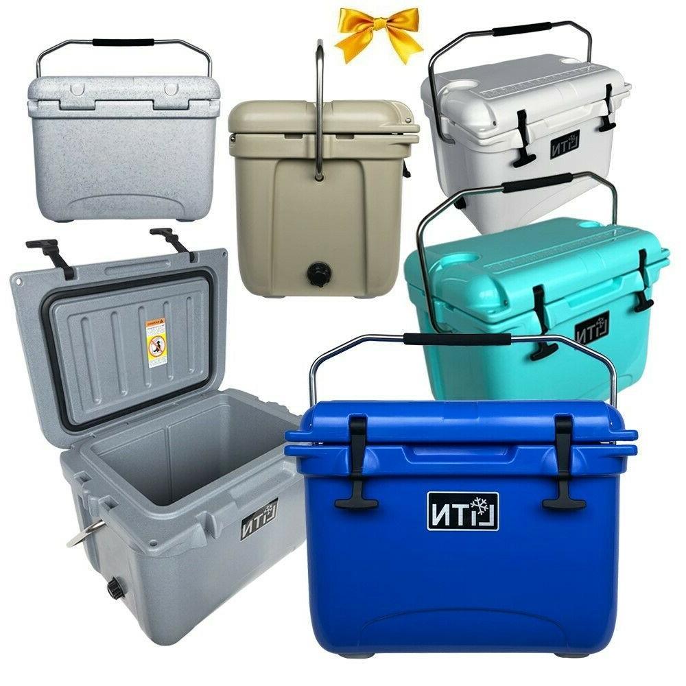 20 qt hard cooler ice chest box