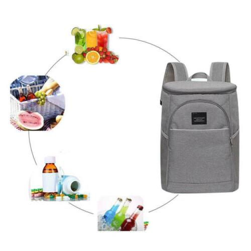 20L Cooling Backpack Picnic Rucksack Beach Ice