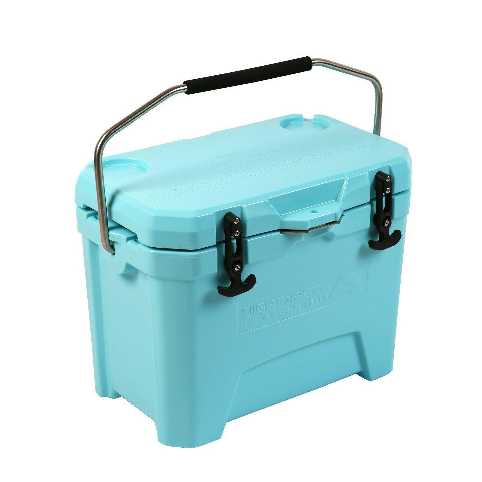 26 quart high performance cooler marine blue