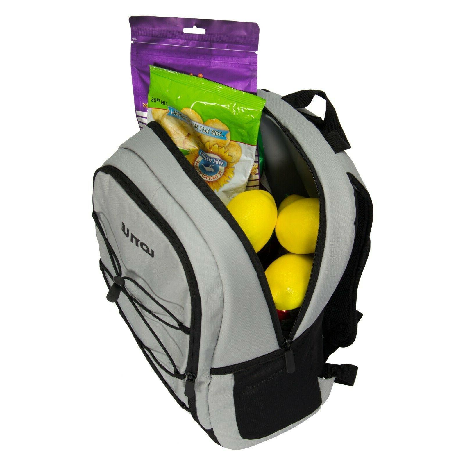 27 Backpack Leakproof Bag Lightweight Picnics