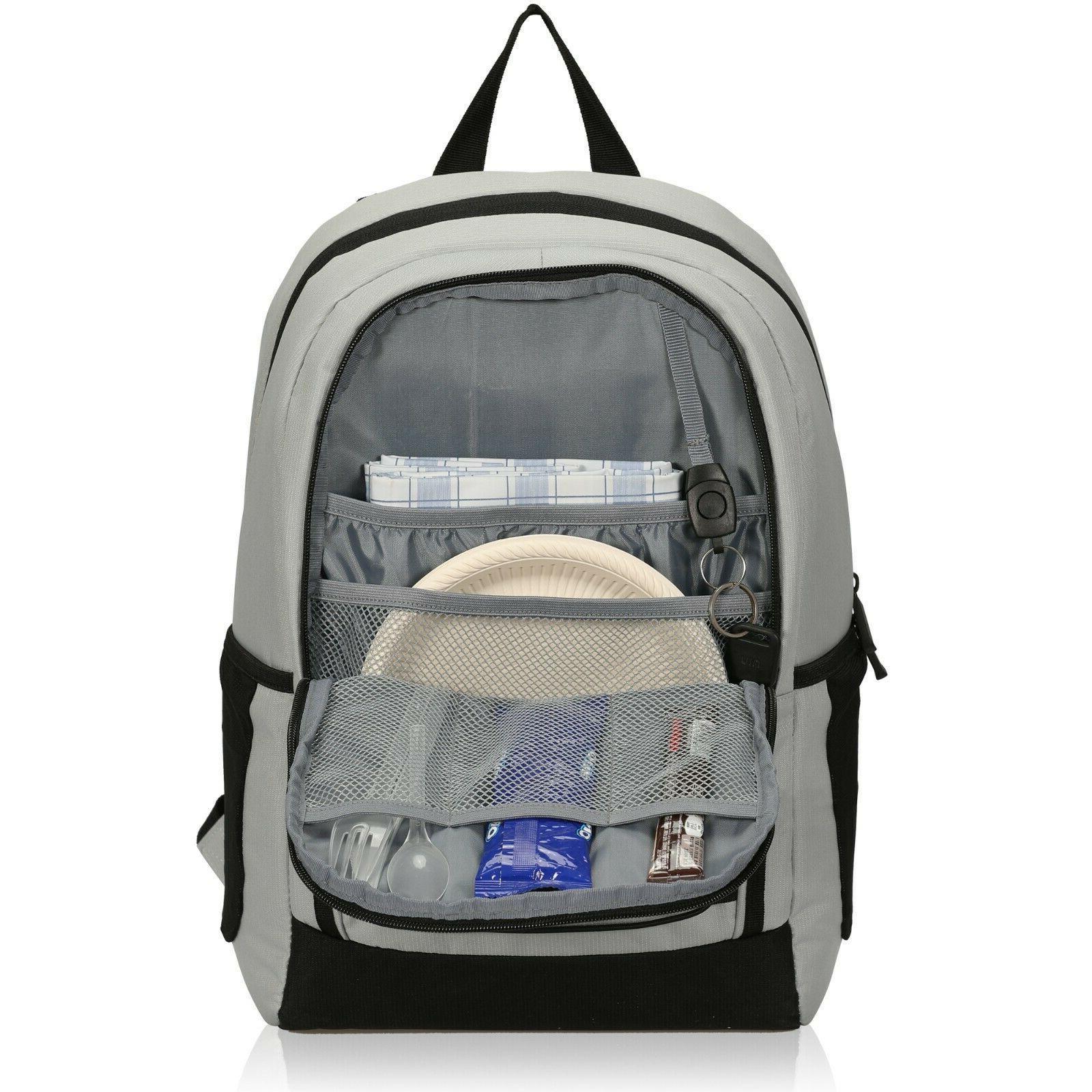 27 Cans Backpack Leakproof Soft Bag Lightweight